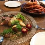 NORI - 前菜と蟹