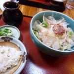 そば茶屋なべしま - 梅おろし(¥900