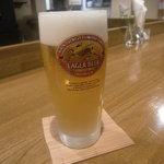 スジャータ - 生ビール(500円)