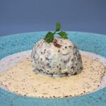 BLUEBlue - 白いハンバーグ マスタードソース