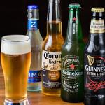 DINING BAR  haon - 各種ビールで乾杯♪