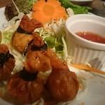 CCB シーフードレストラン アンド バー - エビ包み揚げ¥680