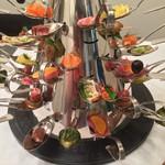 リストランテ コモド - 料理写真:前菜の盛り合わせ