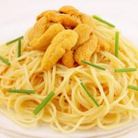 イタリア食堂 クッチーナ - 北海道産塩水ウニの冷製スパゲティ