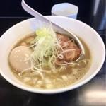 のじじ - 煮干中華そばHARD800円 煮卵100円