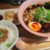 ラーメン バードマン - 料理写真:淡麗煮干しsoba【黒】まんぷくセット♪