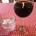 ミラーン - グラス赤300円