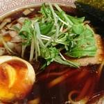 ラーメン バードマン - 淡麗煮干しsoba【黒】♪