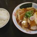 68606073 - 黄昏醤油そば チャーシュー増し+白ご飯大