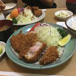 とんかつ うちの - えごま三元豚ロースカツ(1780円→1380円 22%OFF)