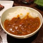 肉山 - 肉山特製カレーライス