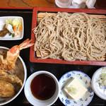 潮来更科 - 料理写真:もりと天丼セット