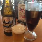 土岐よりみち温泉桔梗 - 瓶ビール&コーラ