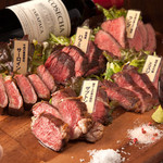 肉専門 大衆酒場 トロット - 1ポンド5種盛りプレート