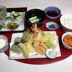 青山 もくち - 天ぷら定食