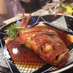 居酒屋三つ葉 - 金目鯛の煮付け