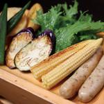 神戸六甲道・ぎゅんた - 夏野菜のグリル