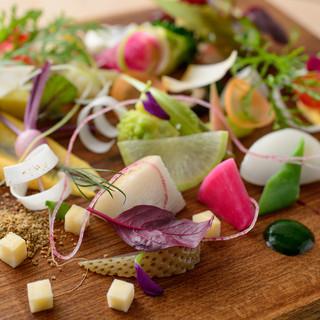 地元の料理人が那須の地野菜・地食材を使った『那須フレンチ』