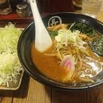 汐屋 まる長 - 味噌そば780円+ネギ