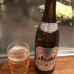 ふみちゃん - 瓶ビール 540円