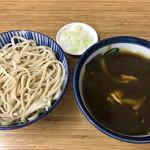 翁そば - カレー南蛮(650円)カレー別盛