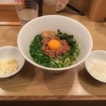 キラメキ☆JAPAN - にんにく別盛と〆のご飯