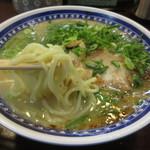 くろいわラーメン - コシのある麺は、麺工房篠宮製。