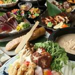 わら焼き軍鶏六 - 料理写真: