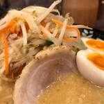 濃厚味噌ラーメンジム 味噌のジョー - 野菜ダブル