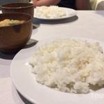 クアトロ - ご飯おかわり自由