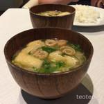 クアトロ - お味噌汁具沢山(゚Д゚)ウマー!(゚Д゚)ウマー!