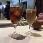 クアトロ - 選べるドリンクセットはアイスティとカフェオレ