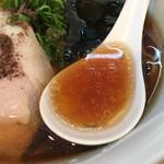Japanese Soba Noodles 蔦 - アタックが増し濃密になったスープ
