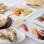 W SEAFOOD TABLE -