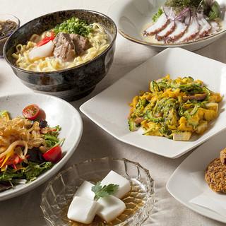 沖縄料理で、忘年会、新年会はいかがですか〜。