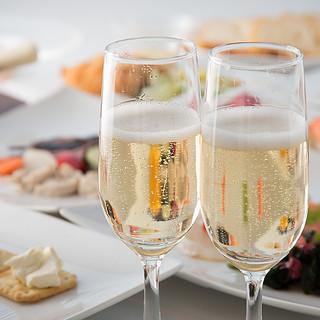 シャンパンでちょっと優雅なママ会女子会♪