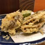 酒菜処 きっすい - 小いわし天ぷら