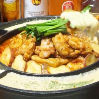 韓流!!「チーズダッカルビ」などのお料理もお楽しみ下さい!!
