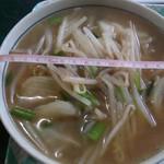 ささ - 料理写真:野菜ラーメン500円 丼の直径17cm