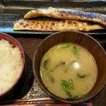 越後屋亀丸 - サーモンハラス定食