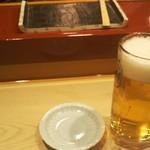 68624830 - ビールで乾杯✨