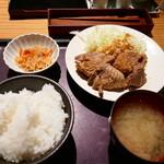 やまや - 生姜焼き定食1000円