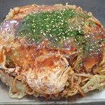きさや - 「肉・玉子・そば」(700円)