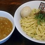 煮干しラーメン玉五郎 六代目 - 【つけ麺(並) 塩煮干し + 味付け玉子】¥780 + ¥100