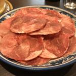 焼肉 まる屋 - 料理写真:塩タン 480円