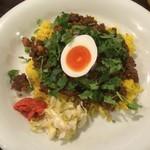 般゜若 PANNYA CAFE CURRY - ひよこ豆と羊のキーマカレー