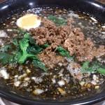 あづま屋 - ・黒担々麺 750円