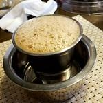 南インド家庭料理 カルナータカー - 【マドラスコーヒー】