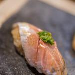 鮨 猪股 - 眞鰺(まあぢ)