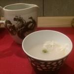 そば切り 岳空 - 蕎麦湯